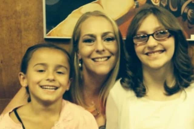 Jayla and Evie lost their mom, Susan Davis, in November.