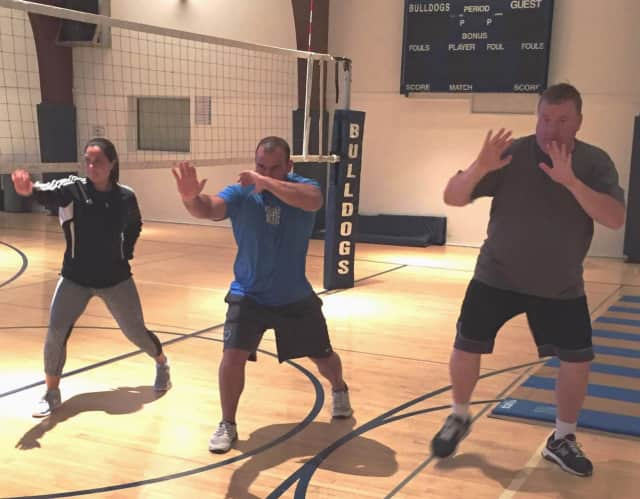 Phil Ross has conducted self-defense training at Dwight-Englewood High School and other local schools.