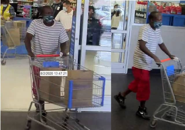 The Norwalk Police Detective Bureau is requesting public assistance in identifying a man who used a stolen credit card.