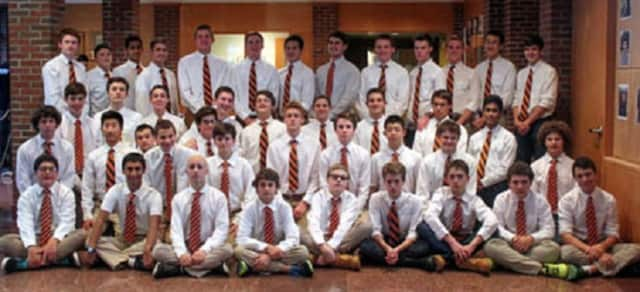 The Horace Greeley High School swim team.