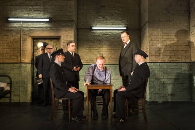 """The Ridgefield Playhouse will screen the National Theatre of London production of """"Hangmen"""" March 3."""