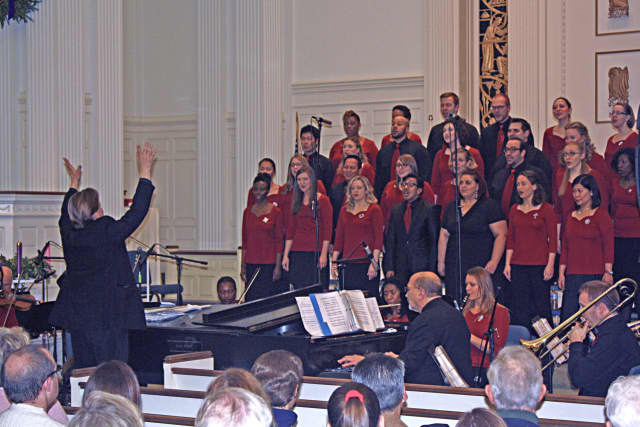 """The SymphoNYChorus will present its Christmas concert, """"Light of the World,"""" at 7 p.m. Saturday, Dec. 12, at Jesse Lee Memorial United Methodist Church in Ridgefield, Conn."""