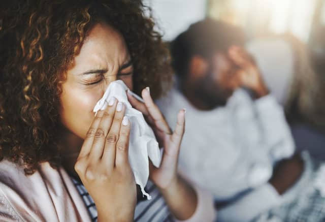 If you greet blooming flowers with a runny nose, then you may be among the millions of people with seasonal allergies, according to Phelps Hospital.