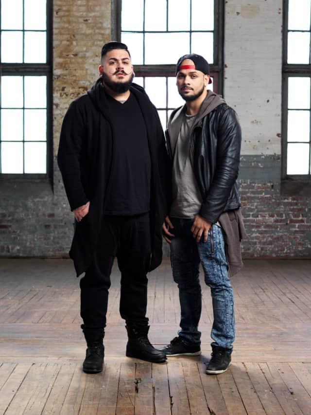 Jhon Campuzano and Babiery Hernandez