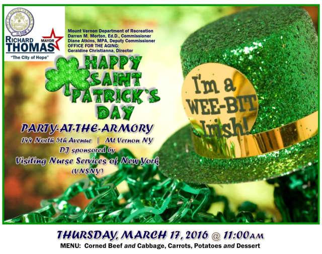 The city celebrates St. Patrick''s Day.