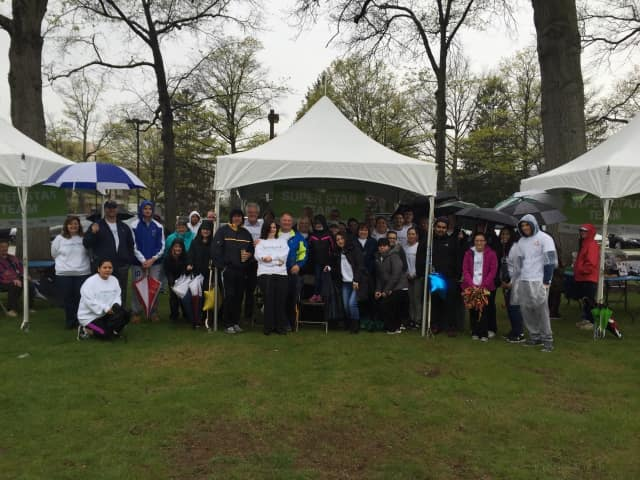 More than three-dozen Tompkins Mahopac Bank employees and friends turned out for the annual walk to raise funds for the Maria Fareri Children's Hospital.