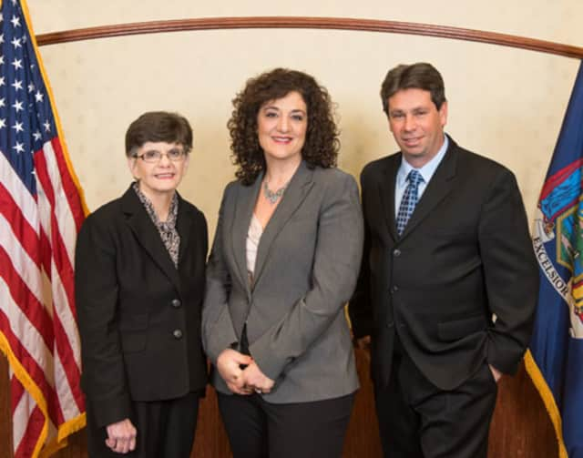 Mary McGee, Karen Brown and Robert Hoyt were elected to the Tarrytown Village Board Tuesday.
