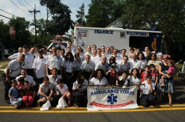 The Teaneck Volunteer Ambulance Corps' will have a blood drive Oct. 26.