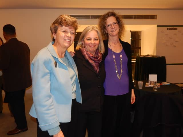 Tara Seeley, Laura Rossi and Robin Melen, of the Westchester Community Foundation