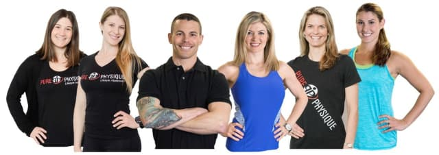 """The staff at Pure Physique, which was voted Westchester's """"Best Workout."""""""