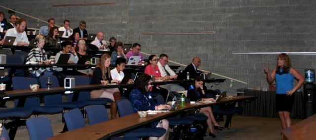 Educators participate in Tech Summit 2015 .