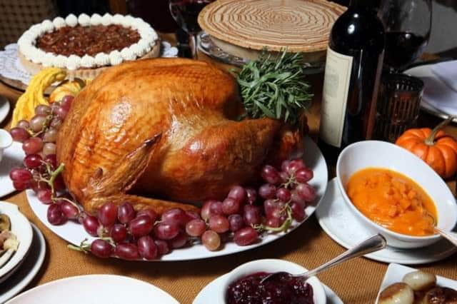 The average Thanksgiving meal has about 3,000 calories.