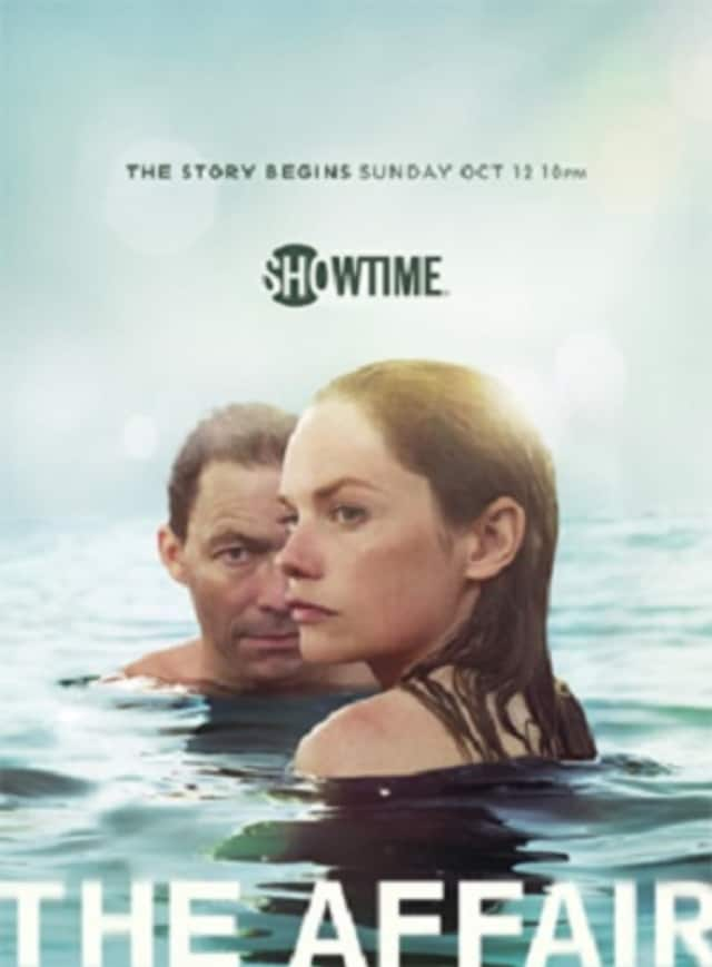 "Scenes from Showtime's steamy series, ""The Affair,"" were shot in the historic Rockland hamlet of Tappan recently."