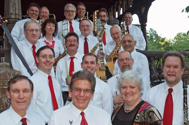 """The Big Band Sound (pictured) will perform at the gala concert, """"All-American: Big Band Style!,"""" on Saturday, June 25, at County Players Falls Theatre in Wappinger Falls."""