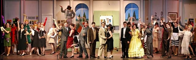 "The Westhill High School Northstar Playmakers put on ""The Drowsy Chaperone"" in 2012."
