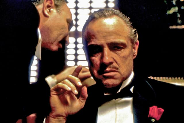 "The Maritime Aquarium will show ""The Godfather"" during a fundraiser on March 19."