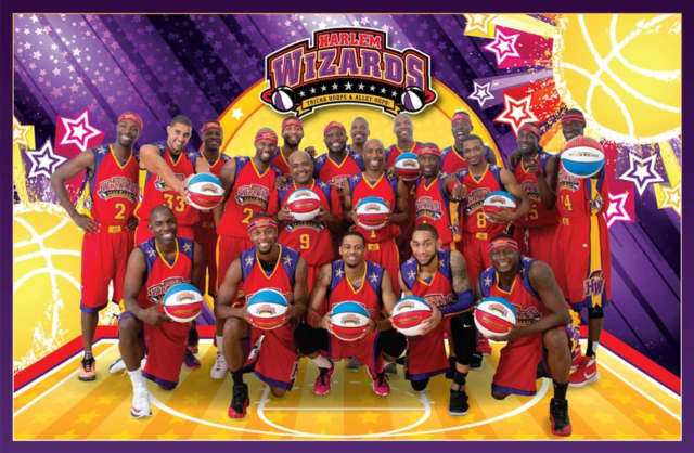 The Harlem Wizards will play at Eastchester High School on Friday, Jan. 27, at 7 p.m.
