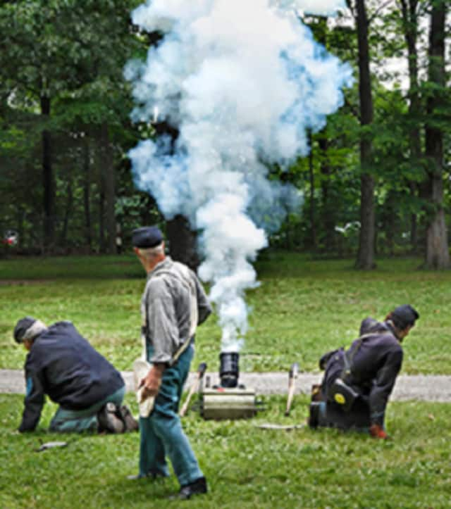 Volunteers will re-enact a Civil War encampment Oct. 1 and Oct. 2 at the Long Pond Ironworks Museum grounds in West Milford's Hewitt.