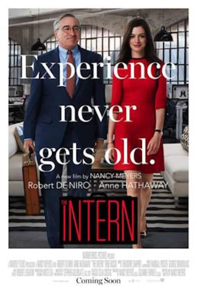 """The Intern"" stars Robert De Niro and Anne Hathaway."