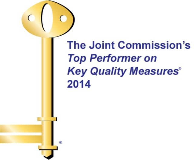 Valley Hospital was recognized as a Top performer on Key Quality Measures by The Joint Commission.