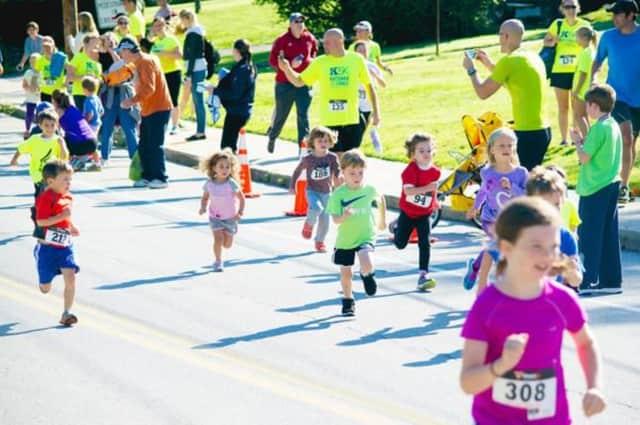 The K5K also features a kids' run.