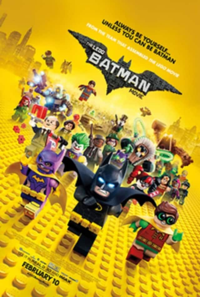 Young fans of DC Comics' beloved superhero, Batman, and Lego toys are invited to watch the movie trailer, sing along to a new song from the film and join in a group Lego build.