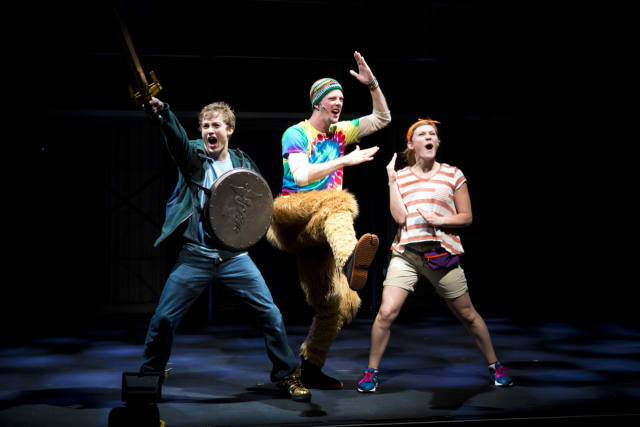 """A musical adaptation of """"The Lightning Thief"""" will be performed at the Ridgefield Playhouse on Dec. 6."""