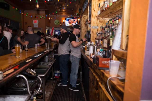 The Local Tap of Nyack keeps it fresh with a constantly rotating selection of 10 draft craft beers and bottled brews.