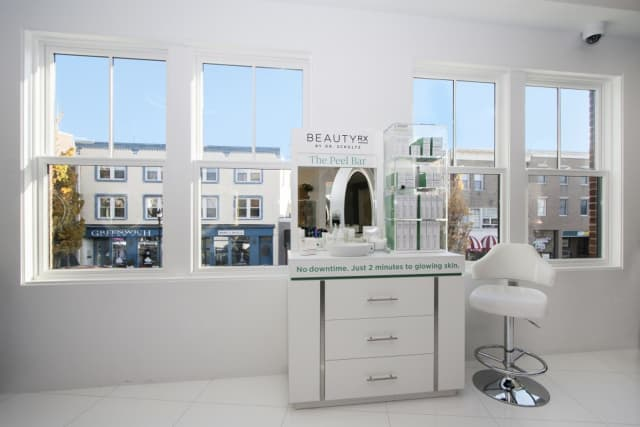 Manhattan's BeautyRx's Peel Bar is now in Greenwich.