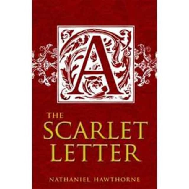 """The Shelton Reading Circle will discuss Nathaniel Hawthorne's classic novel """"The Scarlet Letter"""" on Tuesday, Nov. 10 at the Huntington Branch Library in Shelton."""