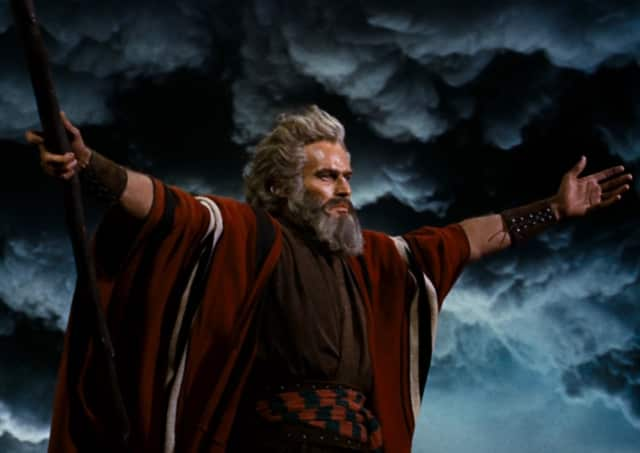 """""""The Ten Commandments"""" will return to the big screen at the Ridgefield Playhouse on March 23."""