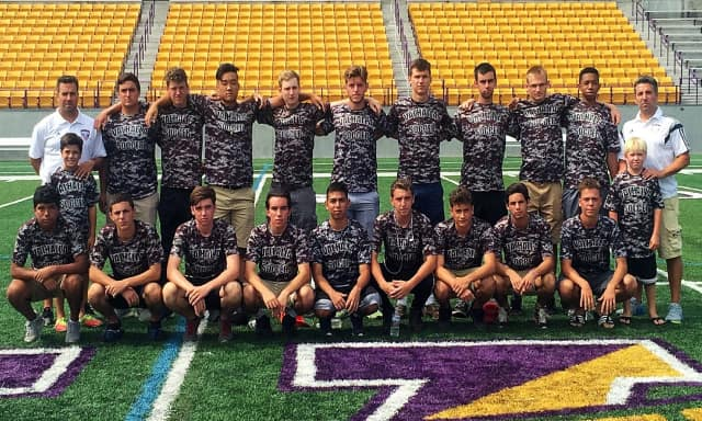 The Valhalla High School boys varsity soccer team has been honored for its composite GPA.