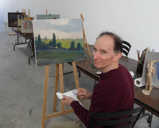 David Buckbinder is teaching art classes in Fair Lawn.