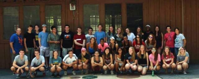 Thirty-three peer leaders participated in an August retreat.