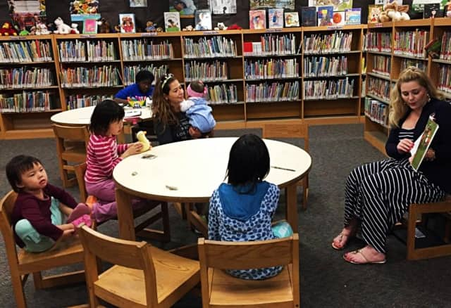 This is one of last year's storytimes at Lodi Memorial Library.