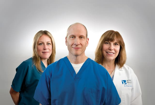 Valley Hospital doctors Thomson, Silvermen and Iversen are helping those with joint pains stay in motion.