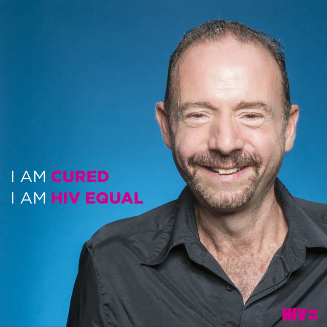 """""""Berlin Patient"""" Timothy Ray Brown participating in the HIV Equal campaign."""