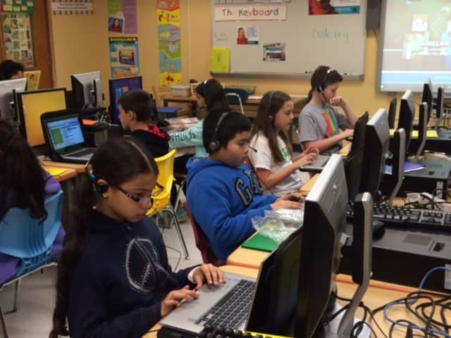 Every student at Todd Elementary School in Briarcliff Manor participated in the international initiative Hour of Code as an introduction to computer science. The Hour of Code took place during the week of Dec. 7-11.
