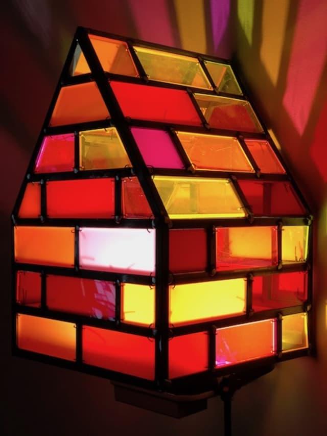 """MiniHouse"" by Tom Fruin. Courtesy ArtsWestchester."