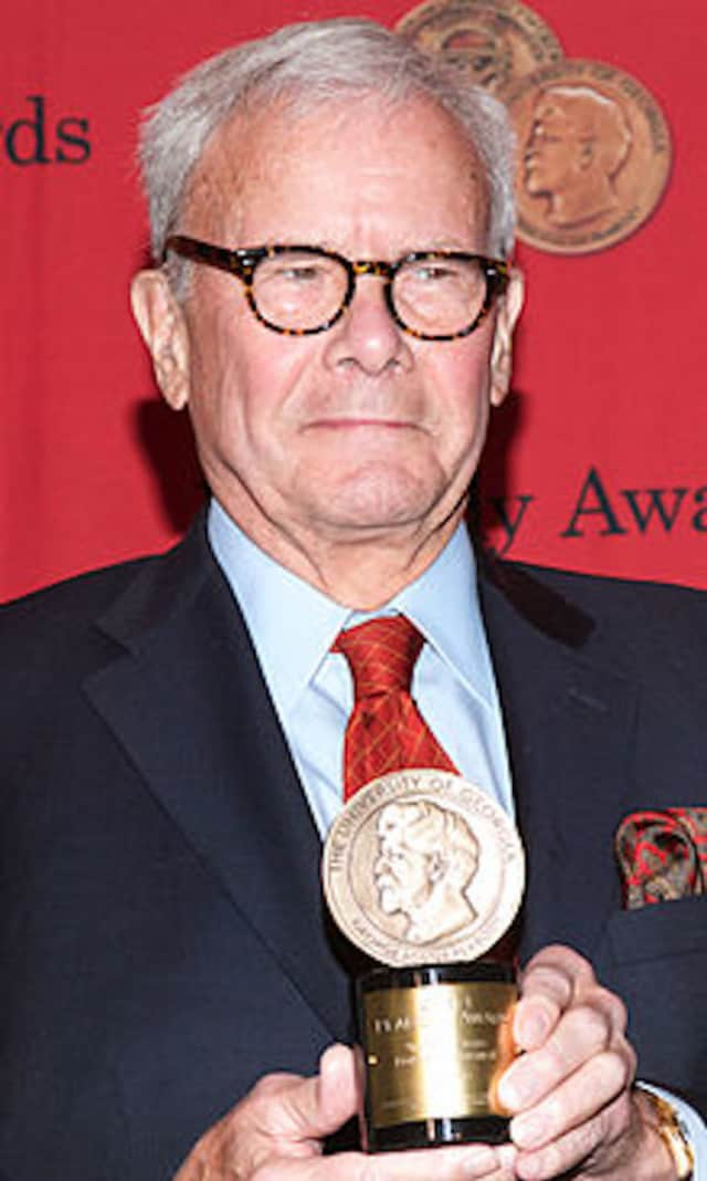 TV journalist and Pound Ridge resident Tom Brokaw turns 76 on Saturday.