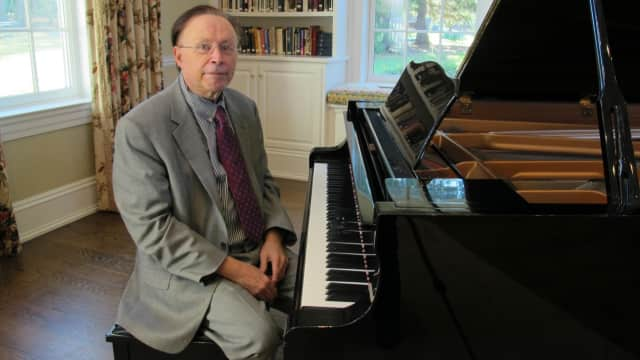 Tony Newman, Music Director for the Bedford Chamber Concerts.