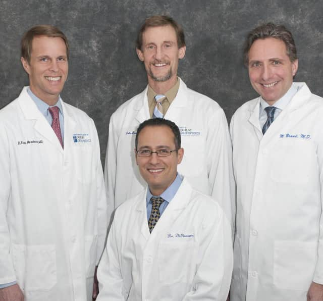 Danbury Orthopedics' specialists have been recognized by Connecticut Magazine as leading surgeons in the field of orthopedics: Dr. Michael Brand, Dr. Joseph DiGiovanni, Dr. Ross Henshaw and Dr. John Lunt.