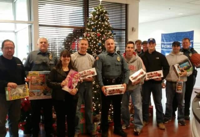 Mahwah PBA Local 143 has been holding a holiday toy drive for about a decade.