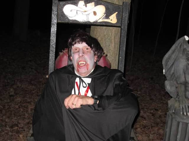 Be prepared to be scared at the Trail of Terror on Oct. 24.