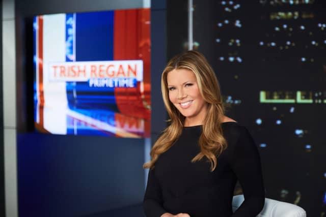 "Trish Regan, host of Fox Business Network's ""Trish Regan Primetime."" Photographs courtesy Fox Business Network."