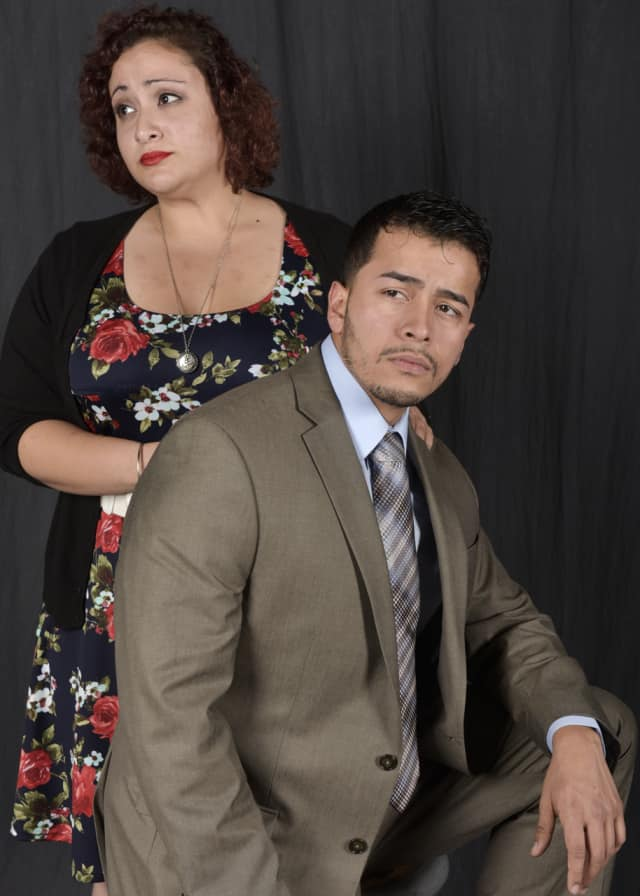 """The Western Connecticut State University's Opera Ensemble will present """"Trouble In Tahiti"""" on Dec. 5 in Danbury. The leading roles will be performed by WCSU students Kassiani Kontothanasis and Steve Valenzuela."""