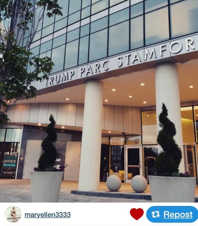 An $84K ring reportedly was taken from an apartment at Trump Parc in Stamford.