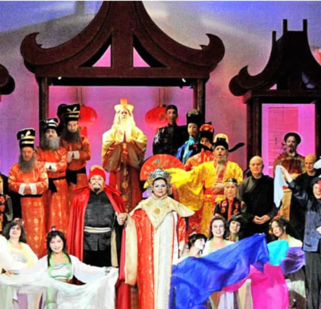 """""""Turandot,"""" 2010 presented by New Rochelle Opera. The opera company will hold its annual fundraiser, Annual Spring Gala on May 12."""
