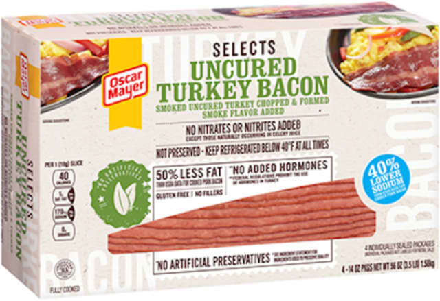 Oscar Mayer recalled more than 2 million pounds of turkey bacon.
