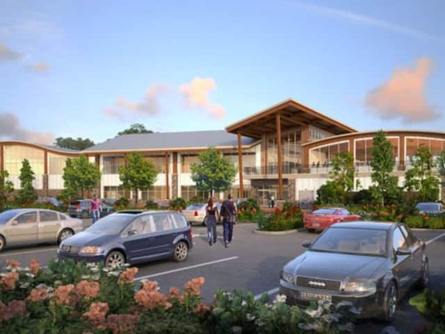 A large residential and commercial development called Tuxedo Farms is being built in Orange County.
